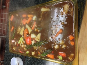 Stewed Pot Roast